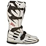 Fly Racing Motocross-Stiefel Maverik Weiß Gr. 42