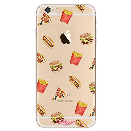 BubbleGum® Funny Food Schutzhülle für iPhone-Modelle, TPU / Silikon, Ice Lolly, iPhone 6 6s Burger/Pizza