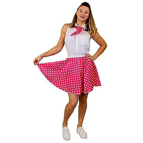 Rock And Roll Danse Costumes Pour Enfants - I Love Fancy Dress Ilfd7013ps Jupe courte