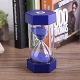 Chronomètres de sable colorés Sablier pour décor de bureau à domicile Cadeau Verre à sable Sablier 3/10/20/30/60 Horloge minute à minuterie