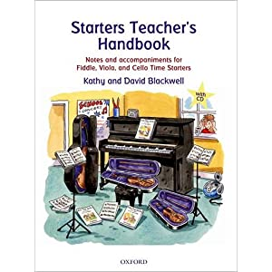 Starters Teacher's Handbook: Notes and accompaniments for Fiddle, Viola, and Cello Time Starters (All String Time)