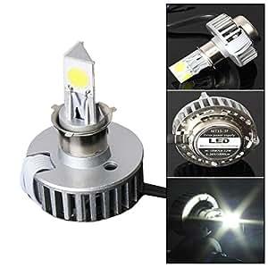 audew h4 led phare moto ampoule avant feux avant lumi re 6 36v 12 18w 1800lm 6000k. Black Bedroom Furniture Sets. Home Design Ideas