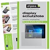 dipos Acer Switch Alpha 12 Schutzfolie (2 Stück) - Antireflex Premium Folie matt