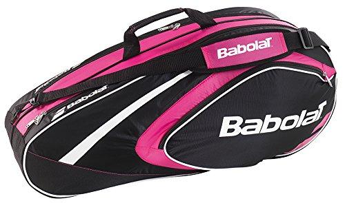 Babolat Schlägertaschen Racket Holder X6 Club Line, Pink, 74 x 24 x 33 cm, 40 Liter, 751079-156