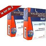 Valdispert Phyto - Nuit - Valériane 450 mg - Complément Alimentaire à base de Plantes Pour le Sommeil - lot de...