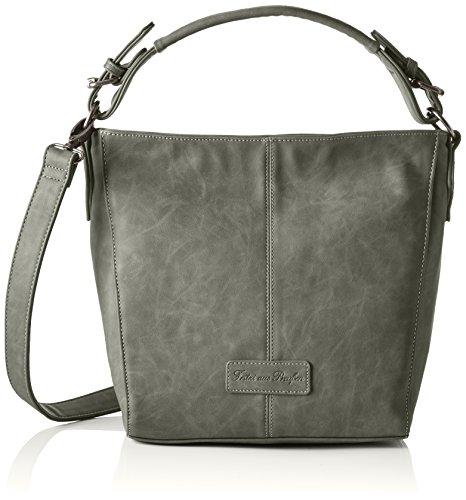 Fritzi aus Preußen Damen Beatriz Business Tasche, 10x30x32 cm Grau (Fog)
