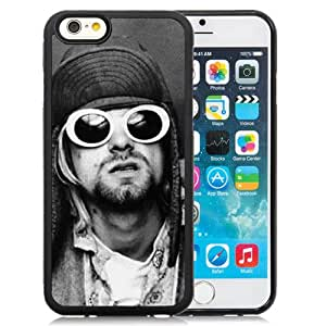6 case,Unique Design Nirvana Band History Glasses Look iPhone 6 4.7 inch TPU case cover