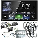 Komplett-Set Opel Astra J Kenwood DMX-7017DABS Bluetooth Carplay Android Auto USB MP3 Digitalradio Autoradio