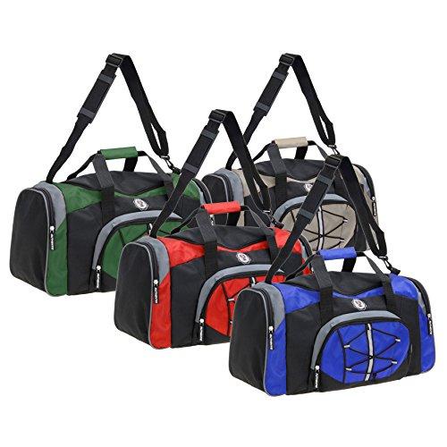 Sporttasche Rot Reisetasche Trainingstasche Fußballtasche Freizeittasche Tasche Grün