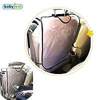 BabyJem 8681049214140 Oto Koltuk Arkasi Koruyucu, Çok Renkli