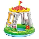 INTEX Baby Pool Royal Castle 122x122 cm Sonnendach Schloss Planschbecken planschen