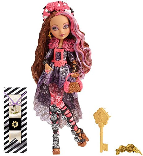 Ever After High Mattel CDM51 - Frühlingsfest Cedar Wood Puppe (High Ever After Mädchen)