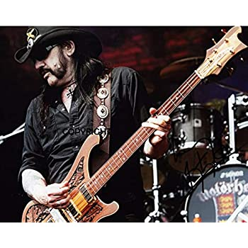 LIMITED EDITION LEMMY MOTORHEAD SIGNED PHOTOGRAPH CERT PRINTED AUTOGRAPH