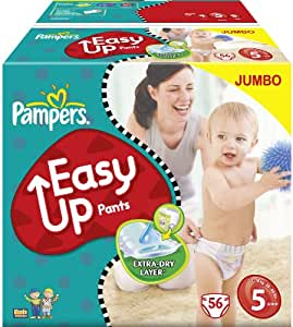 Pampers Easy Ups Baby Nappies Junior Jumbo by Pampers