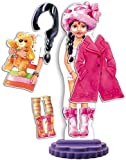 Quercetti 2932 - Fashion Design Nita Bambole Magnetiche da Vestire
