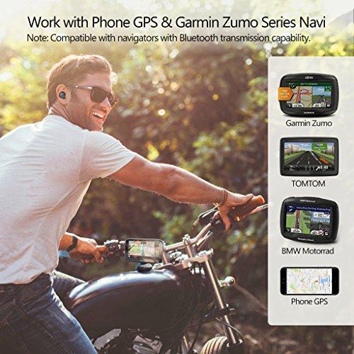 [2018 Version] Avantree Mini In Ear Bluetooth Kopfhörer für Motorradhelm GPS Navi, Podcasts, Audiobooks, Kabellos Unsichtbarer Kleiner Ohrhörer Ohrstöpsel, Wireless Kleinste Motorrad Headset (Nur rechtes Ohr) - 3