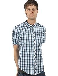 Merc hochfelden Check Shirt Chemise pour homme Blue