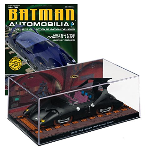 dc-comics-batman-automobilia-collection-vehiculos-de-batman-n-36-detective-comics-667-subway-rocket