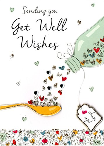 Get Well Wishes biglietto d' auguri Second Nature Just to say Cards
