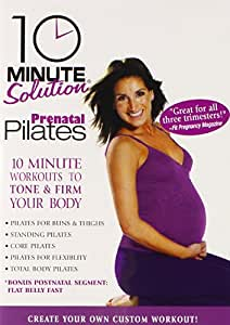 10 Minute Solution: Prenatal Pilates [Import USA Zone 1]