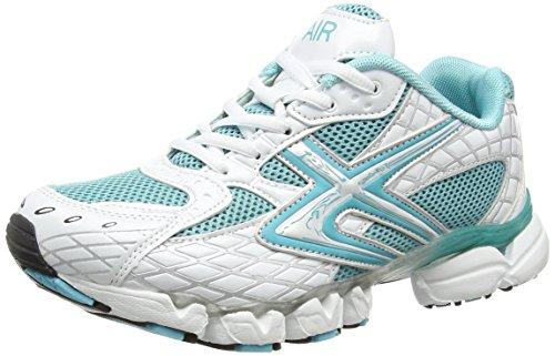 Dek, Sneaker donna Multicolore (White/Turquoise)