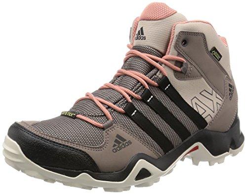 adidas Ax2 Mid Gtx W, Bottes de protection femme gris - Gris (Grivap / Negbas / Rosnat)