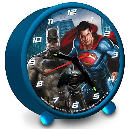 (Batman Wecker Alarm Clock Uhr Kinderwecker Batman vs SUperman Dawn Of Justice)