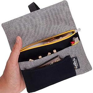 Tabaktasche für Drehtabak, Filter, Blättchen und Feuerzeug