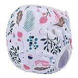 Pañales de natación impermeables ajustables para bebé, 10 – 40 kg, pañales reutilizables, lavables, para natación, para entrenamiento unisex (talla única) A6