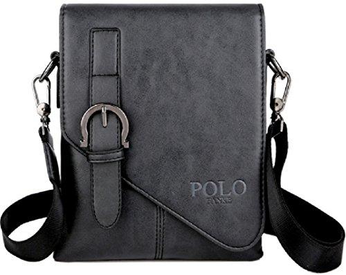 POLO FANKE 4FSGLOBAL FASHION Men Shoulder Bag Cross-body Messenger Quality  Handbag Faux Lea ( 9347c0f96afd1