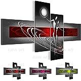 Quadro Figure astratte - XXL Immagini Murale Stampa su Tela Decorazione da Parete Pronte per l'applicazione - 301241a