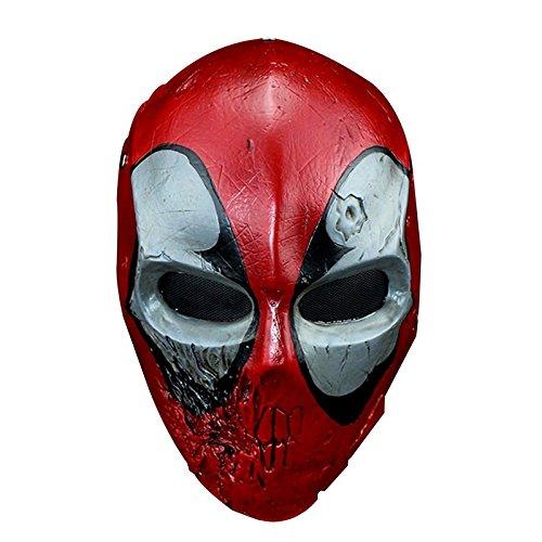 Erwachsenen Ring Für Master Kostüm - hyalinität & Dora Kunstharz Halloween Horrible Death Shi Masken Film Thema Maske Cosplay Kostüm Requisiten