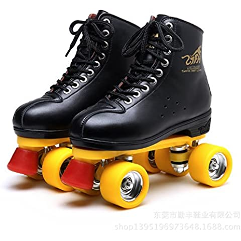 HENGXin @ Double-Row Patines, 38, negro
