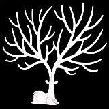 OULII-Pulsera-de-soporte-de-collar-organizador-de-joyera-joyera-de-la-cornamenta-de-los-ciervos-decorativo-rbol-rbol-diseo-blanco