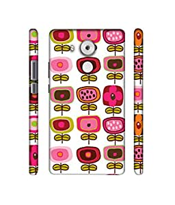 NattyCase Square Pattern Design 3D Printed Hard Back Case Cover for Huawei Mate 8