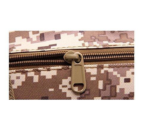 Z&N Militär-Fans taktische tragbare Umhängetasche Outdoor-Reittasche Mode-Sport-Brust-Tasche männlich und weiblich allgemein Camping Rucksack Casual Rucksack E