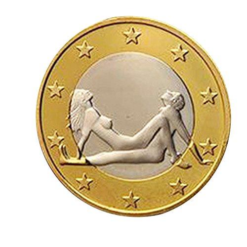 Btruely Adultos Juego Sexual Juguete Flipping Challenge Coins Monedas de Novedad Regalo...