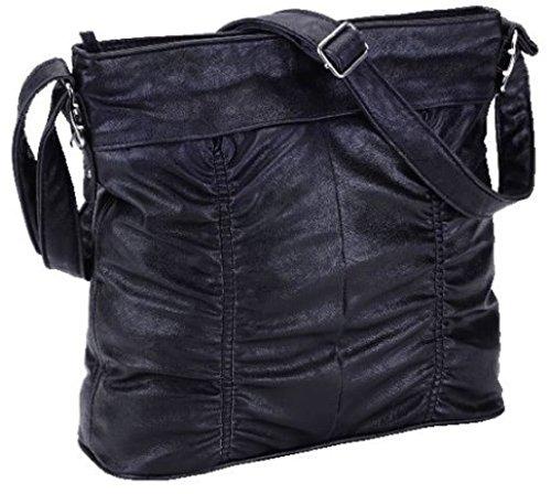Alessandro LADY LIKE 4794 Handbag Damen Umhängetasche mit Handyfach u. RV-Rückfach in 4 Farben ca. 31,0 x 29,0 x 11,0 cm Gelb