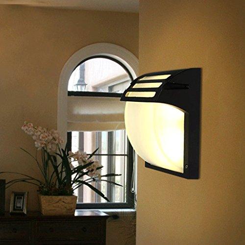 lampes de jardin américains nordiques extérieur étanche témoin mur escaliers de couloir minimaliste lampes restaurant balcon chambre japonaise