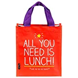 from Happy Jackson Happy Jackson All You Need is Lunch Tote, Red Model HAP174