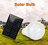 #4: 40 Watts Solar Bulb very Bright with Solar Panel and connecting wire USB out put to charge mobile