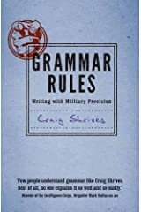 Grammar Rules: Writing with military precision Hardcover