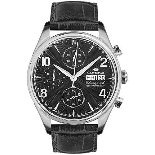 orologio cronografo uomo Lorenz 1934 trendy cod. 030110BB