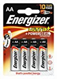 Energizer Original Batterie Ultra Plus Mignon AA (1,5 Volt, 4-er Pack)