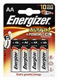 Energizer Original Batterie Ultra Plus Mignon AA (1,5 Volt, 4-er Pack)