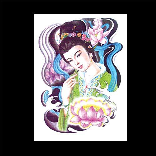 zgmtj Blumen-Arm-Tätowierungs-Aufkleber Halloween-Party-Tätowierungs-Aufkleber 30 148×210MM