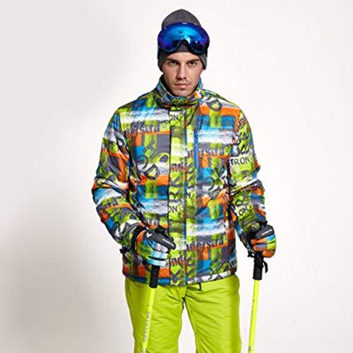 Monllack Warme Herren Skianzug Jacke Skianzug Jacke Warme Winter Outdoor Sportjacke