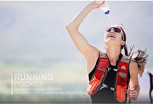 Imagen de aonijie  de hidratación ligera para actividades al aire libre, senderismo, ciclismo, 1,5 litros, negro alternativa