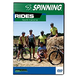 Spinning® Fitness DVD Rides  North Carolina, Full Color, 7254