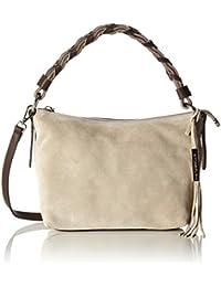 Stonefly Tracoll Dana 1 C7201, Bolsa de Medio Lado para Mujer, Beige (Taupe/Brown), 14X19X24 cm (B x H x T)